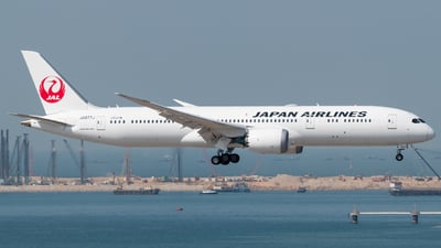 A picture of JA877J - Boeing 7879 Dreamliner - Japan Airlines - © Lam Yim