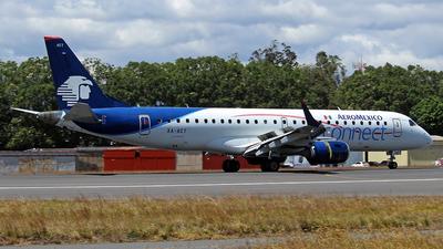 A picture of XAACT - Embraer E190LR - Aeromexico Connect - © César Vielman