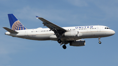 A picture of N439UA - Airbus A320232 - United Airlines - © Xiamen Air 849 Heavy