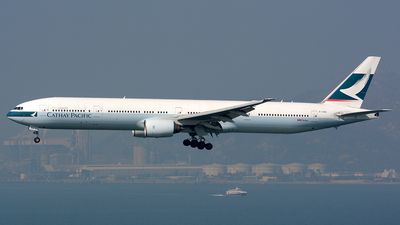 B-HNN - Boeing 777-367 - Cathay Pacific Airways