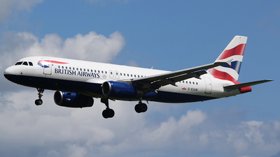 G-EUUN - Airbus A320-232 - British Airways