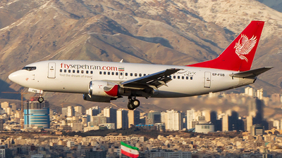 A picture of EPFSB - Boeing 737529 - Sepehran Airlines - © Mohammad Rozve
