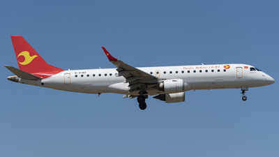 B-3160 - Embraer 190-100LR - Tianjin Airlines