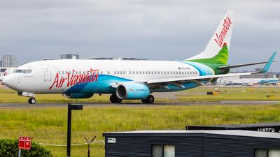 YJ-AV8 - Boeing 737-8SH - Air Vanuatu