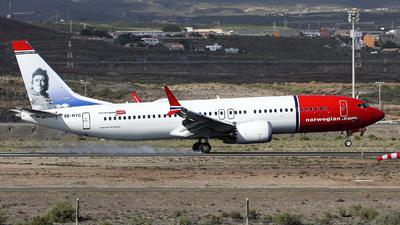 SE-RTC - Boeing 737-8 MAX - Norwegian