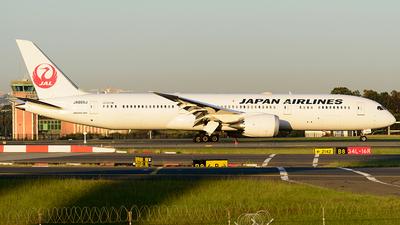 JA865J - Boeing 787-9 Dreamliner - Japan Airlines (JAL)