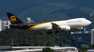 A picture of N623UP - Boeing 7478F - UPS - © Anthony Chau