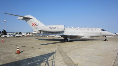 N765XJ - Cessna 750 Citation X - XOJet