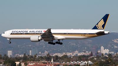 9V-SNB - Boeing 777-312ER - Singapore Airlines