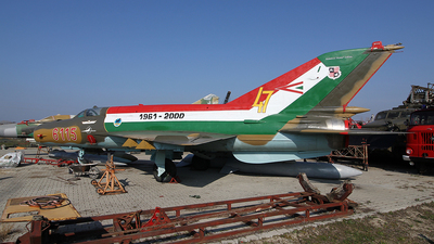 6115 - Mikoyan-Gurevich MiG-21bis SAU Fishbed N - Hungary - Air Force