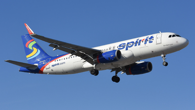 A picture of N640NK - Airbus A320232 - Spirit Airlines - © Jake Oesterreich