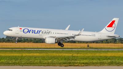 TC-OED - Airbus A321-253N - Onur Air