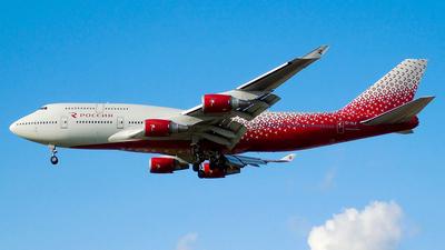 A picture of EIXLF - Boeing 747446 - Rossiya - © Timofey Panteleev