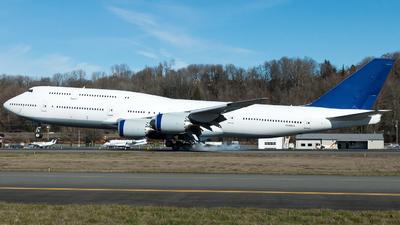 N828BA - Boeing 747-830 - Boeing Company