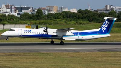 A picture of JA851A - De Havilland Canada Dash 8400 - All Nippon Airways - © BobH