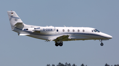 D-CSCB - Cessna 560XL Citation Excel - Silver Cloud Air