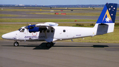 VH-KZP - De Havilland Canada DHC-6-300 Twin Otter - Aeropelican Air Services