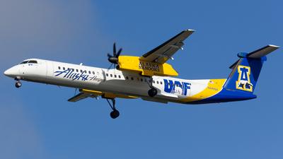 A picture of N441QX - De Havilland Canada Dash 8400 - Alaska Airlines - © Jay Cassady