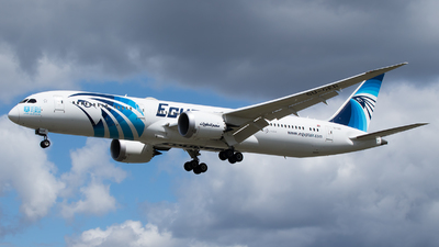 A picture of SUGER - Boeing 7879 Dreamliner - EgyptAir - © Stephen Duquemin