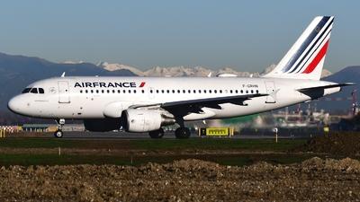 F-GRHN - Airbus A319-111 - Air France