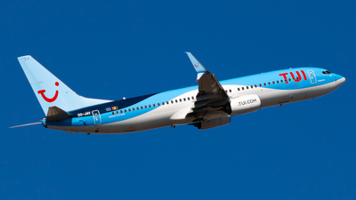 A picture of OOJAV - Boeing 7378K5 - TUI fly - © aaron_gcrr
