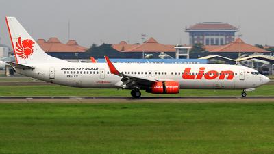 PK-LFV - Boeing 737-9GPER - Lion Air
