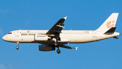 LY-EMU - Airbus A320-233 - GetJet Airlines