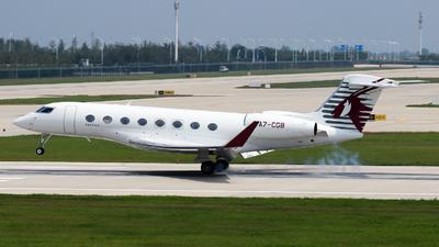 A7-CGB - Gulfstream G650ER - Qatar Executive