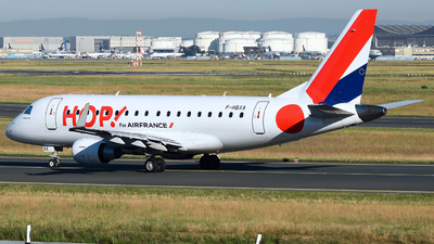 F-HBXA - Embraer 170-100LR - HOP! for Air France