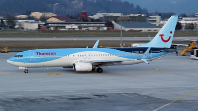 G-FDZD - Boeing 737-8K5 - Thomson Airways