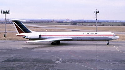 YR-IRE - Ilyushin IL-62M - Cubana de Aviación