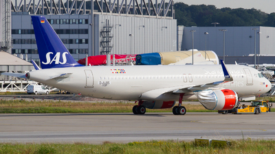 D-AUBS - Airbus A320-251N - Scandinavian Airlines (SAS)
