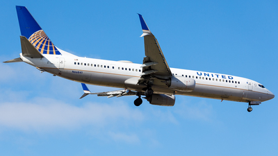 A picture of N66841 - Boeing 737924(ER) - United Airlines - © Martin Pinnau