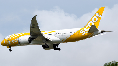 A picture of 9VOFE - Boeing 7878 Dreamliner - Scoot - © Wafi Ammar - sv.Jet