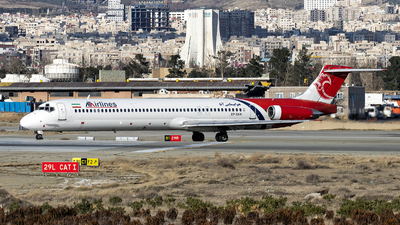 A picture of EPTAN - McDonnell Douglas MD83 - ATA Airlines - © DARA ZARBAF