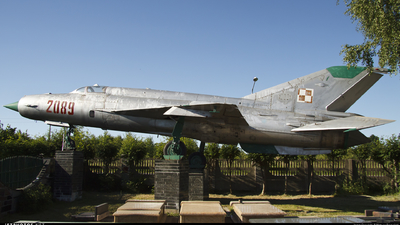 2089 - Mikoyan-Gurevich Mig-21 Fishbed - Poland - Air Force