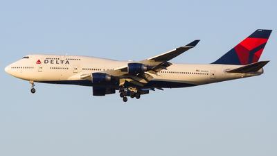 N668US - Boeing 747-451 - Delta Air Lines