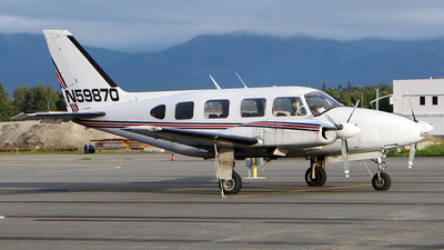 A picture of N59870 - Piper PA31310 - [317612071] - © Jeroen Stroes