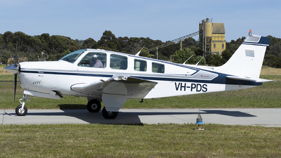VH-PDS - Beechcraft A36 Bonanza - Private