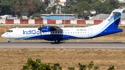 A picture of VTIYD - ATR 72600 - IndiGo - © Rohan Paliwal