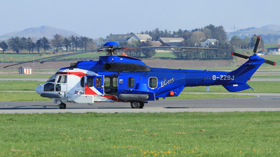 A picture of GZZSJ - Airbus Helicopters H225 - Bristow Helicopters - © Witold Ozimek