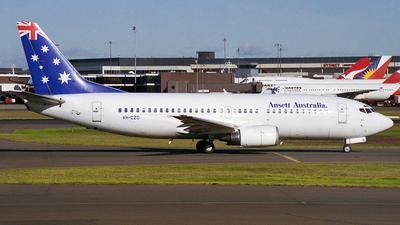 VH-CZO - Boeing 737-377 - Ansett Australia