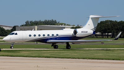 N550AV - Gulfstream G550 - Private