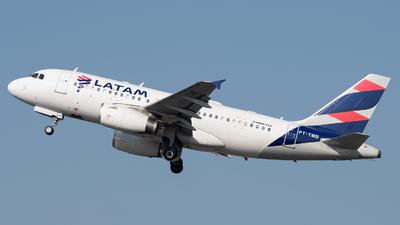 PT-TMB - Airbus A319-132 - LATAM Airlines