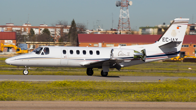 EC-IAX - Cessna 550 Citation II - Spain - National Police