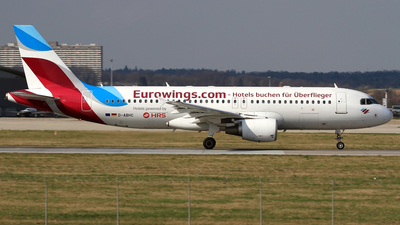 A picture of DABHC - Airbus A320214 - Eurowings - © Eddie Heisterkamp