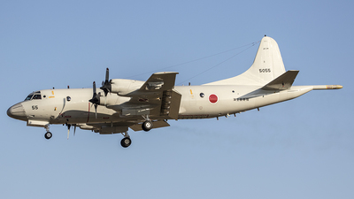 5055 - Kawasaki P-3C Orion - Japan - Maritime Self Defence Force (JMSDF)