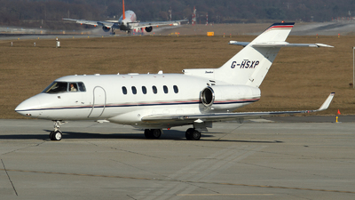 G-HSXP - Raytheon Hawker 850XP - TAG Aviation