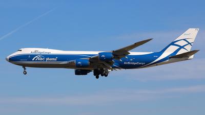 A picture of VQBFU - Boeing 74783Q(F) - AirBridgeCargo Airlines - © Daniel Klein