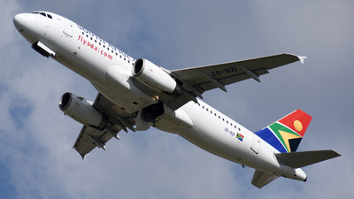 ZS-SZI - Airbus A320-232 - South African Airways